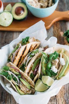 Tacos de Frango - Vai Comer o Quê?