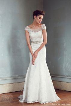 karen willis holmes wedding dresses 2013 jasmine cap sleeve lace gown