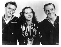 Frank Sinatra, Kathryn Grayson, and Gene Kelly from Anchors Aweigh.