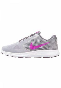 outlet store eea49 e5015 Nike Performance. REVOLUTION 3 - Laufschuh Neutral - wolf grey fire  pink dark