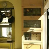 """""""Built-in"""" Kitchen Cabinets"""