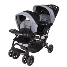 A Z Baby Trend Sit And Stand Stroller Nevű T 225 Bla 10