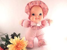 Baby's First Giggles Doll Girls Toy Baby Doll by Goldberger Soft Fabric Cuddly…
