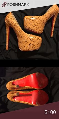 Christian Louboutin heels Christian Louboutin heels replica if needed will put up more pictures make an offer willing to negotiate Christian Louboutin Shoes Heels
