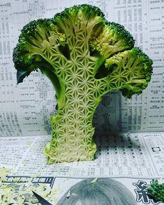 Les Sculptures Mukimono sur Fruits et Légumes de Gaku (1)