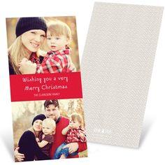 $41.89 Chevron Cheer  Christmas Cards