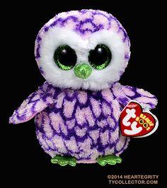 Pipper - owl - Ty Beanie Boos
