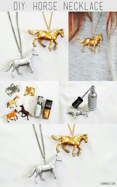 not necklace, could do to my horses, as decor