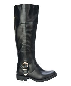 Another great find on #zulily! Black Kimo Boot #zulilyfinds