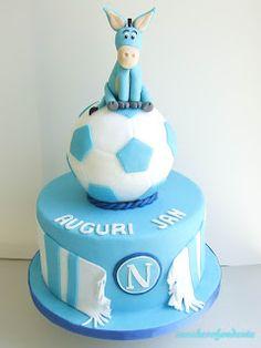 Torta calcio Napoli!!!