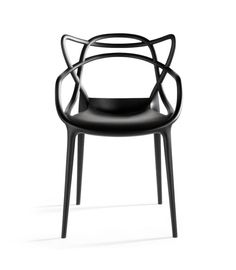 Masters chair by Philippe Starck.    See the three chairs in one??? LOVE IT.