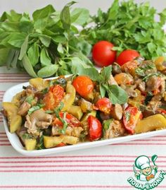 Вкуснейшая пикантная овощная закуска с грибами