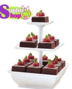 Snack server también sirve para cupcake y distintos aperitivo queda muy bien para fiestas y quedas como diosa