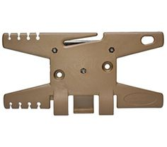 ParaCord Spool Tool (Coyote)- Holds Up To 100' of Parachute Cord