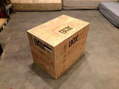 How To Build An Easy 3-in-1 CrossFit Jump Box With A Single Sheet Of Plywood - YouTube