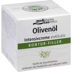 OLIVENÖL Intensivcreme exclusiv:   Packungsinhalt: 50 ml Creme PZN: 09635289 Hersteller: Dr. Theiss Naturwaren GmbH Preis: 15,44 EUR…