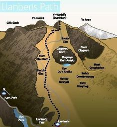 Find out more about the six official walking routes up Snowdon