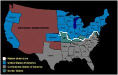 A comparison of the North and South during 1861 on the eve of the American Civil War as seen from a numerical perspective.