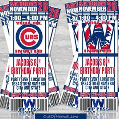 f532b965 World Series Champion Chicago Cubs Themed Birthday by OutOfNormal 5th  Birthday Party Ideas, 30th Birthday