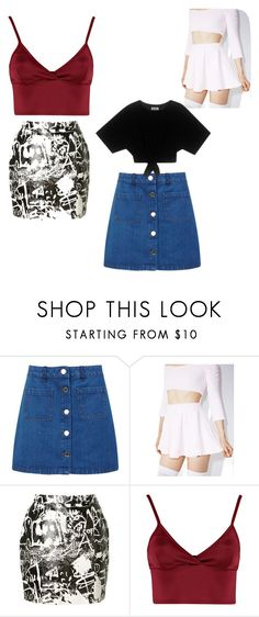 """""""men"""" by fatimazbanic ❤ liked on Polyvore featuring Miss Selfridge, Melonhopper, Yves Saint Laurent and Lipsy"""