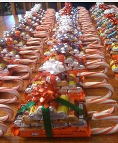 Candy sleds!