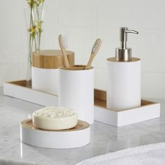 Found it at Joss & Main - 6-Piece Elana Bathroom Set