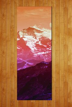 Alpine Views: Bring a new sense of tranquility to your yoga practice with this gorgeous Alpenglow Namaspace Mat ($69). You can rest even easier knowing that this mat is phthalate-free.