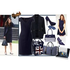 Kate Middleton - Boarding the Plane Look for Less, created by glama-puss on Polyvore