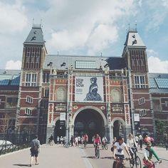 Doing the Rijks thing  #Amsterdam #Netherlands