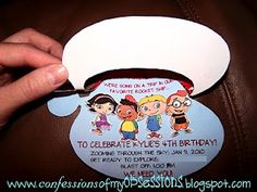 Confessions Of My Obsessions: Little Einstein Birthday Party