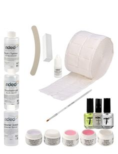 Our nded UV gel professional refill set is perfect for replenishing your stock of working materials. This set can save you up to 30% compared to the individual purchase of products. #nded #uvgel #refill #set  www.nded.com