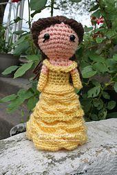 Ravelry: Cutie Ballgown Princess Inspired by Belle pattern by Jennifer Chittum