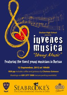 Classical Music poster | Iuvenes Musica - Young Music' on Wednesday 12 September has been ...