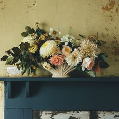 Fall Arrangement by Swallows & Damsons | Design*Sponge