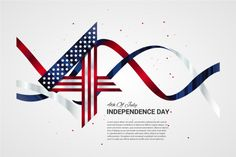 4th of July vector background by Optimistic shop on @creativemarket