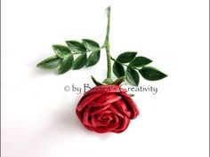 (1) Quilling Rose (Part 1) paper flower - YouTube