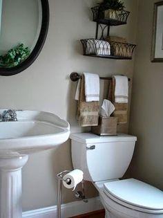 10 grandes ideas para baños pequeños (pág. 2) | Decorar tu casa es facilisimo.com