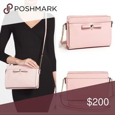 Kate Spade Beacon Court Crossbody Bag Cute blush pink color!   20% off when you bundle 3+ things!! :) Other