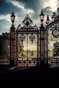 Wonderful gates.