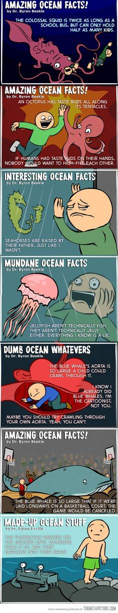 I like how at the end it's called Made-Up Ocean Stuff