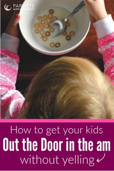 6 Ways to make mornings easier with kids. Learn tips for getting out the door on time with kids and ideas for better mornings with kids that will help you stop yelling at your child and send them off happy and confident. Parenting Toddlers, Parenting Advice, Difficult Children, Mindfulness For Kids, Kids Mental Health, Raising Girls, Positive Discipline, Parent Resources, Christian Parenting
