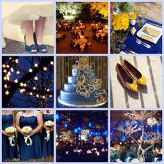 """Starry, Starry Night"" Wedding Theme | DA Weddings"