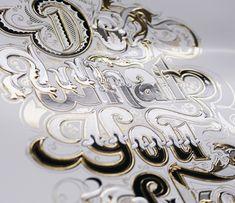 multi-depth embossing and foil stamping