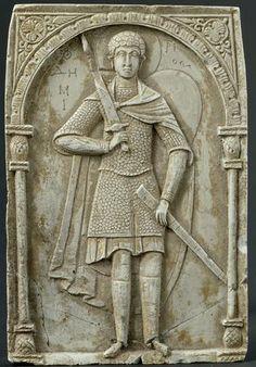 Plaque of Saint Demetrius