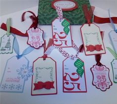 cricut projects | Project Center - Christmas gift tags
