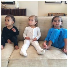 Kim Kardashian's Group Shot of North West, Penelope and Mason Disick Is Too Precious for Words