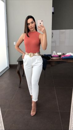 Casual Work Outfits, Business Casual Outfits, Basic Outfits, Professional Outfits, Mode Outfits, Office Outfits, Classy Outfits, Summer Outfits, Fashion Outfits
