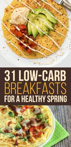 31 Low-Carb Breakfasts For A Healthy Spring from BuzzFeed (and thanks for including some of my recipes!)