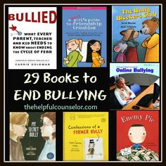 29 Bullying Prevention Book Recommendations...would need to read them before recommending. Bullying is often confused with conflict. It's not conflict, it's peer abuse