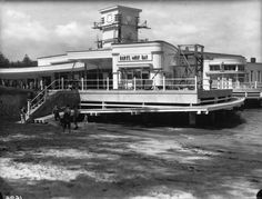 Manly Ferry Wharf showing Burts Milk Bar in the foreground,in the Northern Beaches region of Sydney in Avalon Beach, Bronte Beach, Aboriginal History, Australian Photography, Manly Beach, Historical Images, Travel Images, Sydney Australia, Back In The Day
